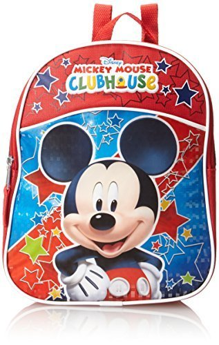 Qoo10 - Disney Little Boys Mickey Mouse Mini Backpack   Kids Fashion c56fb7ce01844