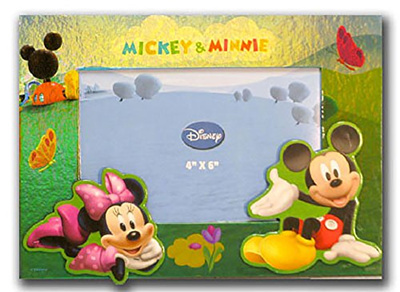 Qoo10 Disney Mickey Minnie Mouse Picnic Photo Picture Frame