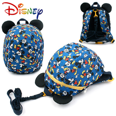 e0f73a8712c Qoo10 - Disney Mickey Mouse Kids Dummy Backpack with Anti-lost Safety  Harness ...   Kids Fashion