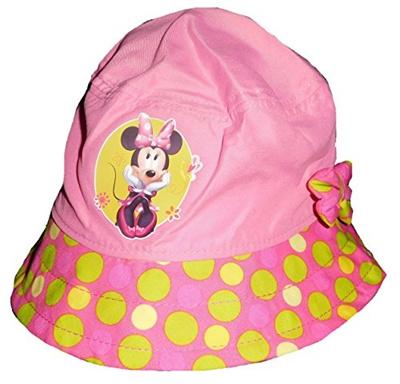 4c77e90683f Qoo10 - Disney Minnie Mouse Polka Dot Little Girls Toddlers Bucket Hat    Watch   Jewelry