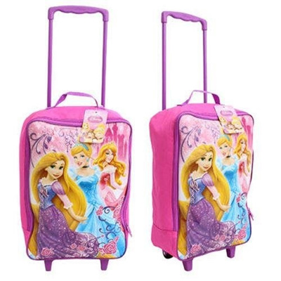 Qoo10 - Disney Princess Rolling Luggage Pilot Case For Girls   Women s  Clothing b2595dc42