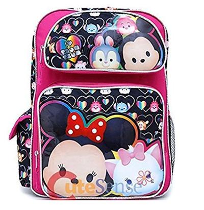 Disney Tsum Tsum School Backpack 16in Large