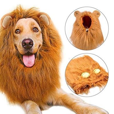 6ccc0b60f Qoo10 - (Diswoe) Lion Mane for Dog, Diswoe Dog Costume Lion Wig for Dog  Fancy ... : Pet Care