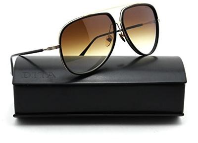 0e447550cd4 Qoo10 - Dita CONDOR TWO 12K Gold w Black Frame Unisex Sunglasses 21010E    Fashion Accessories