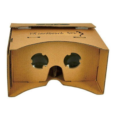 Diy Cardboard Vr Virtual Reality 3d Viewing Glasses For 3 5 6 2 Cellphone