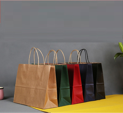 Diy Gift Paper Bag Holder Door Gifts Party Christmas Birthdays