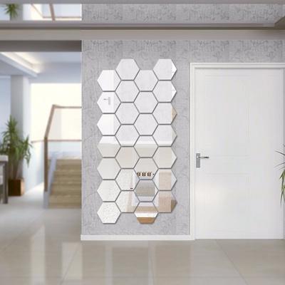 DIY Home Mirror Wall Decoration Acrylic Mirrored Decorative Sticker Room  Decoration Wall Art Home