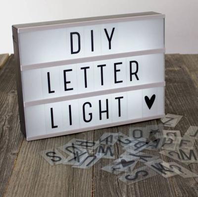 Letter Light Boxes.Diy Led Letter Light Box