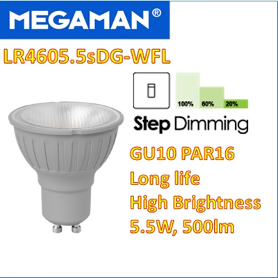 MEGAMAN LED DIMMING ELECTRONIC DRIVER FOR MAC