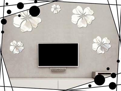 Qoo10   DIY Mur Autocollant Maison Décoration Fleur Art Bricolage Mural  Sticke... : Furniture U0026 Deco