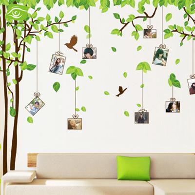 Qoo10 Diy Photo Frame Nice Tree Photo Wall Stickers Home Decor