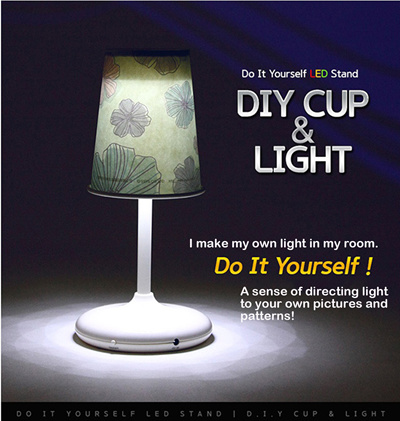 do it yourself led lighting. Do It Yourself LED Stand DIY CUP LIGHT Moods And Nursing Stands Sleep Led Lighting