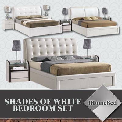 Qoo10 great deal ihomebed bedroom set 4 models bed for Good deals on bedroom sets