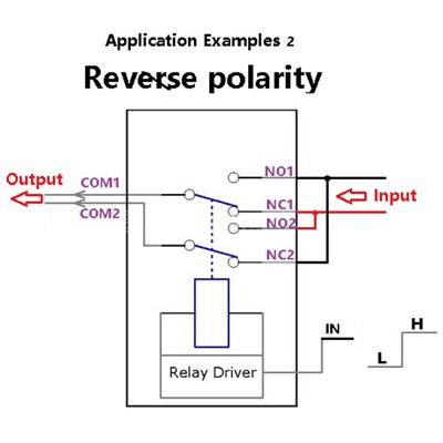DPDT Relay Module Reverse Polarity Switch ARDUINO UNO MEGA Development Board