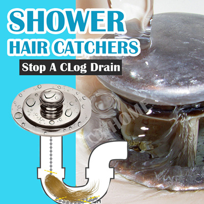 drainwig hair catcherhair clog removal stickshower drain hair clean