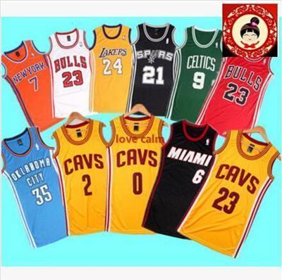 quality design 22ad3 677b8 Dress casual women sports Jordan Bryant James Duncan Allen Iverson jersey  basketball clothes girls