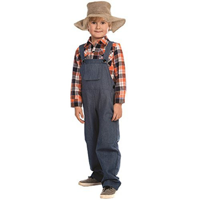 Qoo10 Dress Up America Boys Farmer Costume By Dress Up America