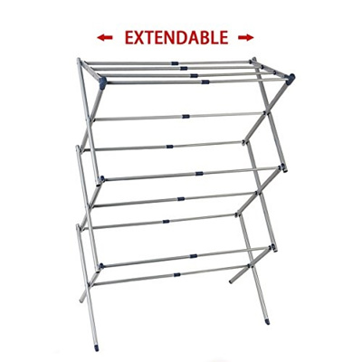 Qoo10 Drynatural Laundry Dryer Rack Extra Large 3 Tier Expandable