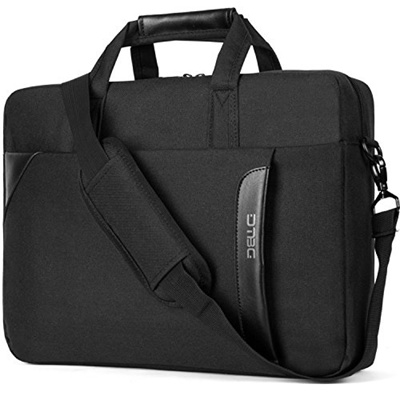 4690e7c1b475 DTBG 15.6 Inch Laptop Shoulder Bag Nylon Messenger Bag Business Briefcase  Handbag Laptop Case for HP