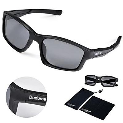 938f3511a3 Qoo10 - Duduma ® Uv400 Protection Polarized Rectangle Sports Sunglasses for  Cy...   Men s Bags   Sho.
