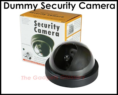 Dummy Security CCTV★Wireless Video Surveillance Camera★LED Light★Home  Office SG Seller