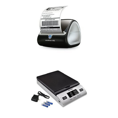 (DYMO) DYMO LabelWriter 4XL Label Maker and Accuteck All-In-One Series  W-8250-50BS A-PT 50 Digit