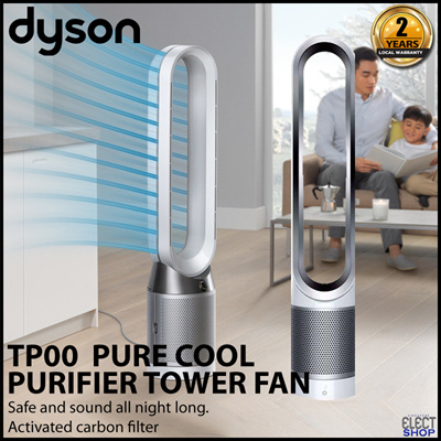Qoo10 Dyson Pure Cool Purifier Tower Fan Tp00 White