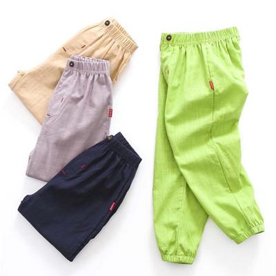 6033b4569526 Qoo10 - DZIECKO Baby Boys Clothing Summer Kids Pants 100%Cotton Harem Pants  El...   Kids Fashion