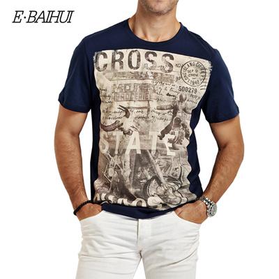60add6d3eaa8 Qoo10 - E-BAIHUI brand Summer style Men Cotton Clothing T-shirtS casual T-Shir...    Men s Fashion