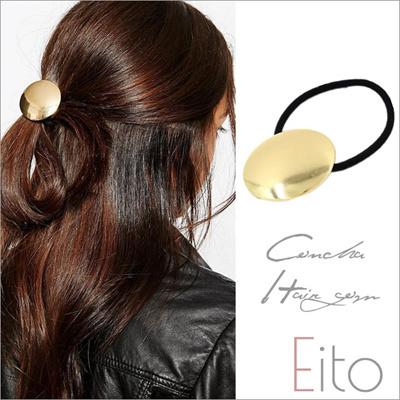 E3 4 Mail Service Concho Gold Medal Hair Rubber Simple Style
