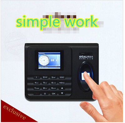 ☆EBU Fingerprint Attendance / Time Recorder☆Biometric Fingerprint  Scanner▶for up to 1000 Users◀