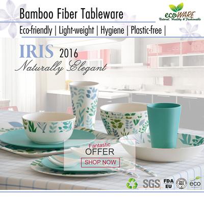 [BEST SELLING BAMBOO FIBER DINNERWARE] Bamboo Fiber | anti-bacterial | light weight  sc 1 st  Qoo10 & Qoo10 - Bamboo Fibre Pitcher : Kitchen \u0026 Dining