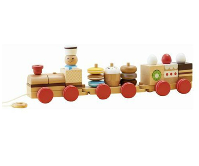 Qoo10 Ed Inter Shimei By Train By Patissier Wooden Toy Wooden
