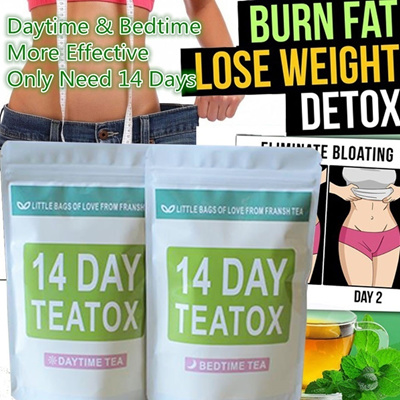 Effective Weight Loss Tea Herbal 14 Days Thin Belly Tea Crude Effective Fat Burner Skinny Slimming T