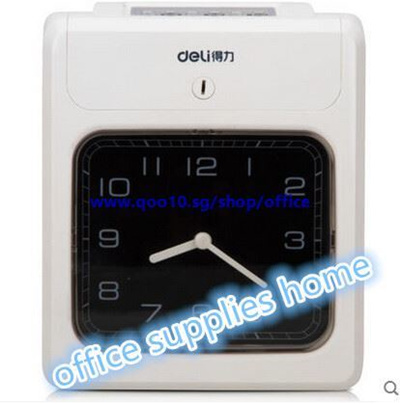 Effective work time clocks on 3955 Attendance punch card machine paper card  machine power outage