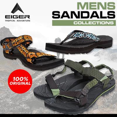 eacb95b8c4 Qoo10 - [EIGER] New Year Sale - Good Quality Men Sandals : Men's ...