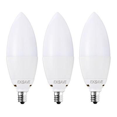 Eksave Candelabra Led E12 Bulb 7w Professional Lighting Equivalent 60 Watt Light Bulbs Equivale