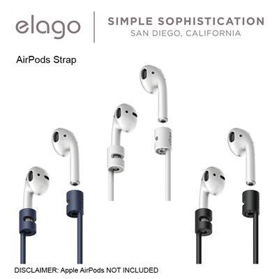 ElagoElago AirPods Strap for Apple AirPods / ★ NEW ★ Airpods Ear Pads 2  pairs (Large and Small)