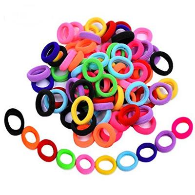 Qoo10 - Elastic Hair Bands Ties Girl Small Size Rubber Band Ponytail  Holders (...   Hair Care 9e08db2eafa