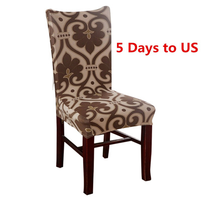 Qoo10 - Elastic Stretch Slipcovers Chair Seat Cover Protector Dining Room  Wedd...   Women s Clothing 28574a199