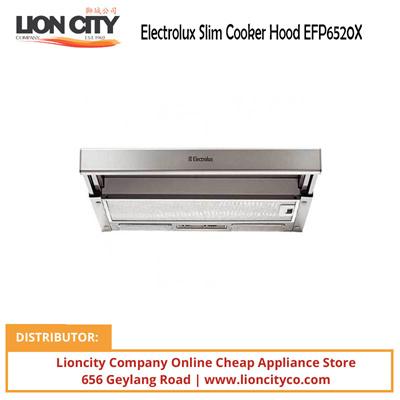 qoo10 electrolux slim cooker hood efp6520x home. Black Bedroom Furniture Sets. Home Design Ideas