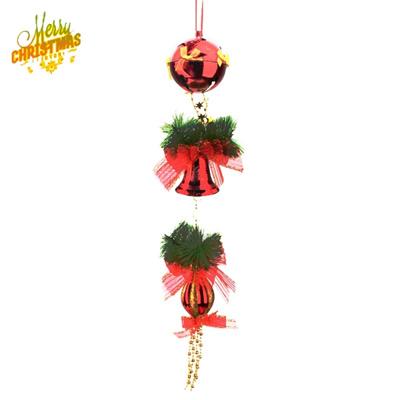 Elegant Christmas Ornaments.Elegant Christmas Tree Ornaments Bell Ball Hanger Red