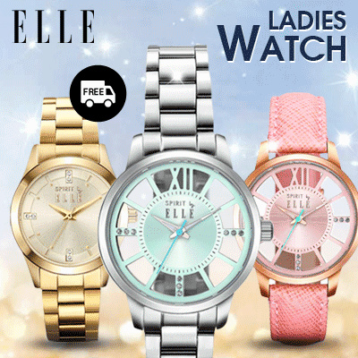 Qoo10 elle spirit watch branded women watch 2years for Jh jewelry guarantee 2 years