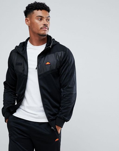 3ab3518664 Qoo10 - Ellesse Sport Zip Through Hoodie With Reflective Trim ...