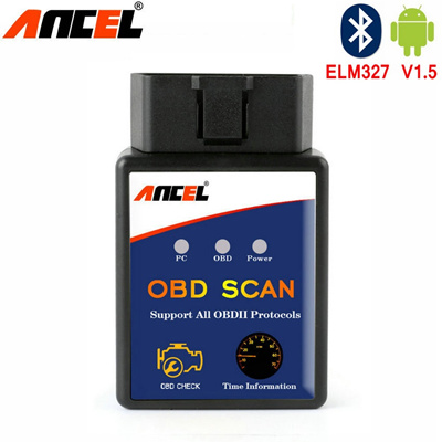 ELM 327 V1 5 BT adapter Works On Android Torque Elm327 Bluetooth V1 5 V 1 5  OBD2 / OBD II Auto Car