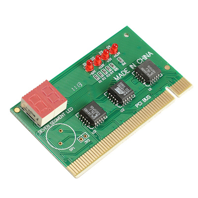 Emall 2Digit PC PCI Diagnostic Card Motherboard Analyzer Tester Post for Desktop