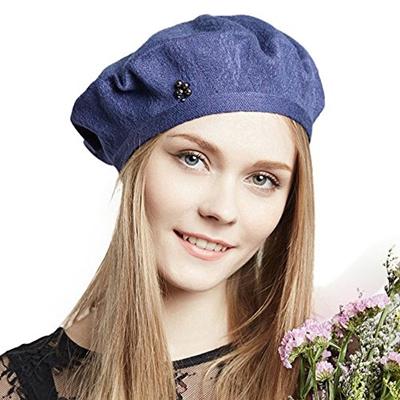 1a557b5e6db Qoo10 - ENJOYFUR Beret Hat For Women French Wool Beret Cap Casual Solid Hat  Sp...   Men s Bags   Sho.