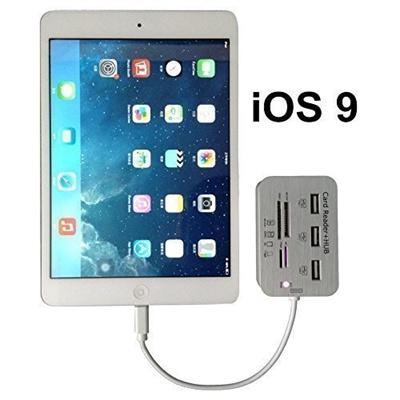 Enokay Camera Connection Kit (Support iOS 9) for iPad 4/iPad Mini/iPad Air  Card Reader for iPad 4/iP