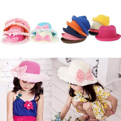 24e274601ae Qoo10 - Kids Summer Sun Hat   Kids Fashion