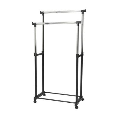 Bon Epon Double Garment Rack / Cloth Hanger Rack / Up To 15kg Bearing Capacity